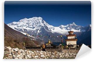 Vinylová Fototapeta Chrám v Himalájích