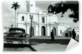 Fototapeta Vinylowa Cienfuegos chevrolet