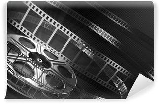 Vinylová Fototapeta Cinema film reel