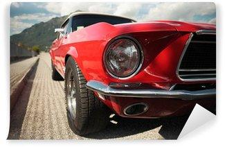 Vinylová Fototapeta Classic Muscle Car
