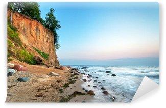 Vinylová Fototapeta Cliff of Orłowo v Baltském moři, Polsko