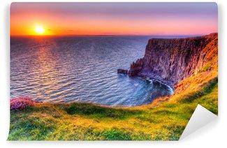 Vinylová Fototapeta Cliffs of Moher při západu slunce, Co Clare, Irsko
