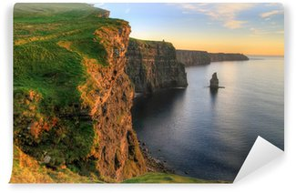 Vinylová Fototapeta Cliffs of Moher při západu slunce - Irsko