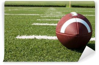 Vinylová Fototapeta Closeup amerického fotbalu na pole