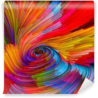 Fototapeta Winylowa Color Vortex Background