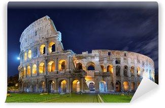 Vinylová Fototapeta Colosseum v noci v měsíčním světle