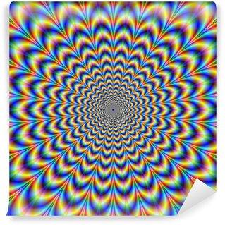 Fototapeta Winylowa Crinkle Cut Psychedelic Pulse