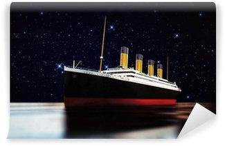 Vinylová Fototapeta Cruise ship