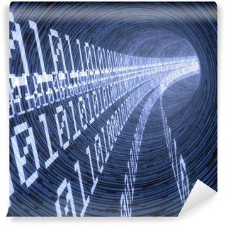 Fototapeta Vinylowa Cyfrowy tunel