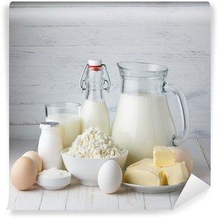 Vinylová Fototapeta Dairy products