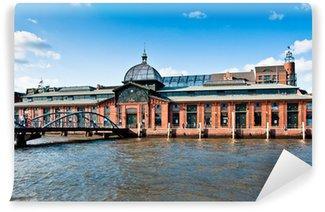 Fototapeta Winylowa Dawny targ rybny w Hamburg-Altona
