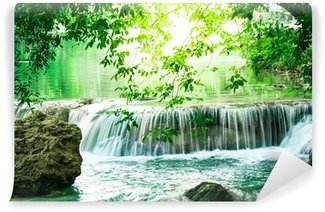 Vinylová Fototapeta Deep Forest Vodopád v Thajsku