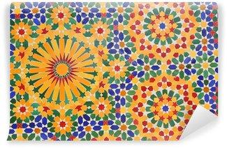 Vinylová Fototapeta Dekorace Hassan mešity II ve městě Casablanca, Maroko