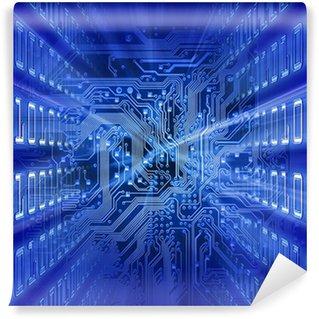 Vinylová Fototapeta Desce (modrá energie)