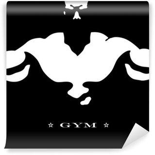 Vinylová Fototapeta Design pro posilovny a fitness