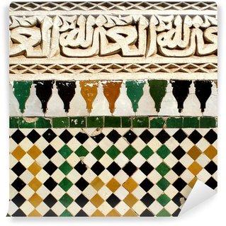 Vinylová Fototapeta Detail arabské ornamentální vzor keramiky na stěnu