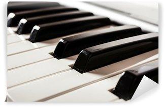 Vinylová Fototapeta Detail Klavírní klávesnice