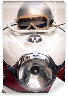 Vinylová Fototapeta Detail veteránského motorce