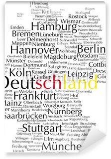 Vinylová Fototapeta Deutschland