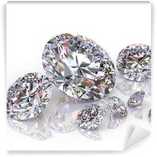 Vinylová Fototapeta Diamanty