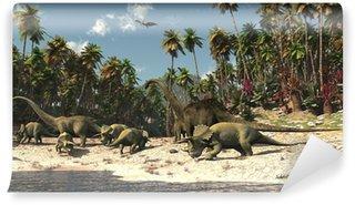 Fototapeta Winylowa Dinosaures