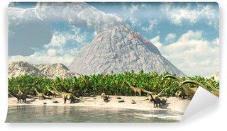 Vinylová Fototapeta Dinosauři