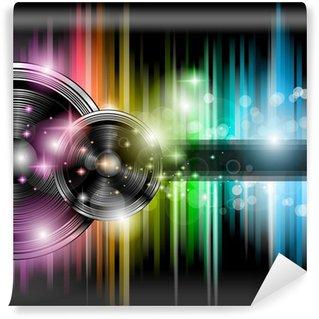 Vinylová Fototapeta Disco club leták s množstvím abstraktní barevné provedení