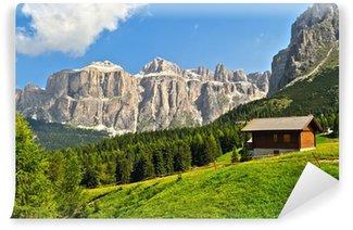 Vinylová Fototapeta Dolomiti - vysoká Val di Fassa