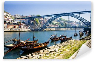 Vinylová Fototapeta Dom Luis I Bridge, Porto, Douro provincie, Portugalsko