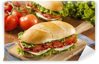 Vinylová Fototapeta Domácí italské Sub Sandwich
