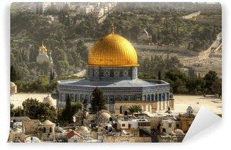 Vinylová Fototapeta Dome of the Rock v Jeruzalémě