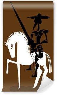 Vinylová Fototapeta Don Quijote a jeho kůň