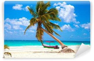Vinylová Fototapeta Dovolená a turistika koncepce: Caribbean Paradise.
