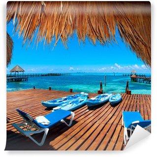 Vinylová Fototapeta Dovolená v Tropic ráj. Isla Mujeres, Mexiko