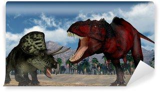 Fototapeta Winylowa Drapieżny dinozaur