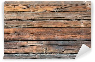 Fototapeta Winylowa Drewnianych pokładzie