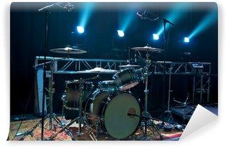Vinylová Fototapeta Drum kit na jevišti