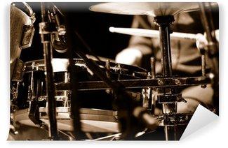 Vinylová Fototapeta Drummer na jevišti