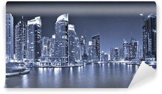 Vinylová Fototapeta DUBAI, Spojené arabské emiráty - 23. října: Pohled regionu Dubaj - Dubaj Mar