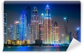 Vinylová Fototapeta Dubaj Marina panoráma, Spojené arabské emiráty