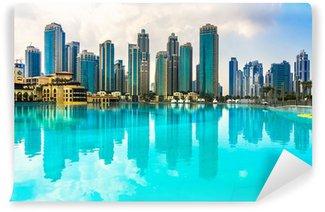 Vinylová Fototapeta Dubaj panorama, Spojené arabské emiráty.
