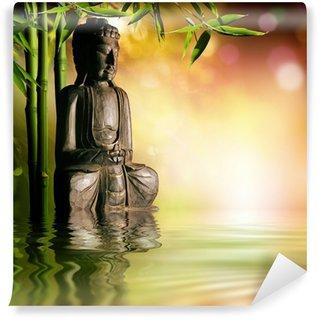 Vinylová Fototapeta Duchovní pozadí asijské kultury s buddha
