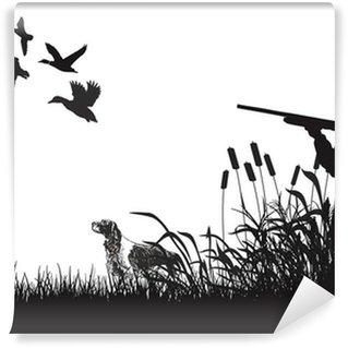 Vinylová Fototapeta Duck Hunting