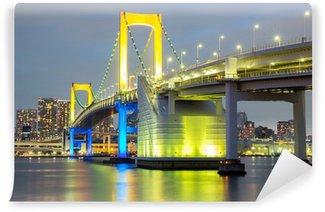 Vinylová Fototapeta Duhový most Tokyo