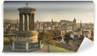Vinylová Fototapeta Edinburgh skyline