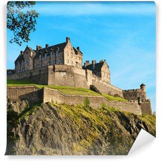Vinylová Fototapeta Edinburský hrad přes jasně modré obloze, Skotsko, Velká Británie
