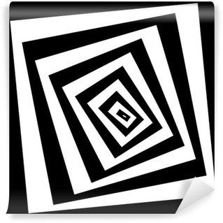 Fototapeta Winylowa Efekt spirali tle ilustracji. wektor