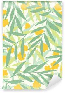 Fototapeta Vinylowa Egzotyczne liści, tropikalnych.
