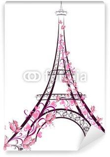 Vinylová Fototapeta Eiffelova věž, Paříž. Francie