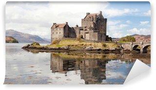Vinylová Fototapeta Eilean Donan Castle, Skotsko, Panorama